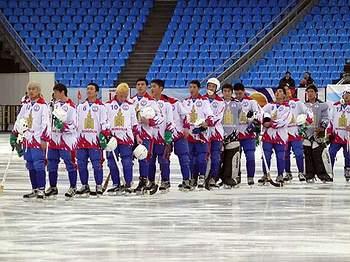 Сборная Монголии держала равнение на польский флаг