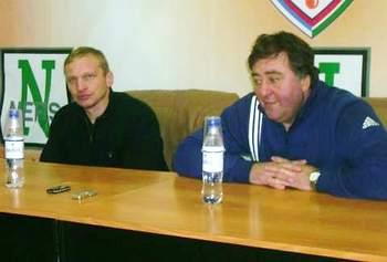Стук и Ломанов после матча