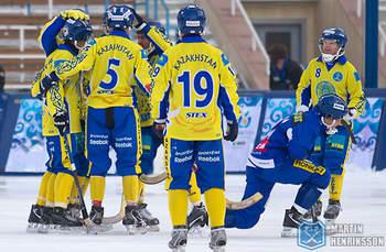 Казахстан в матче с Финляндией 10 раз праздновал успех